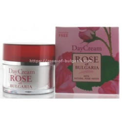 Day cream rosewater