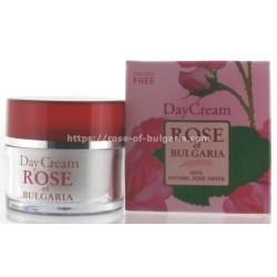 Crème de jour à l'eau de rose