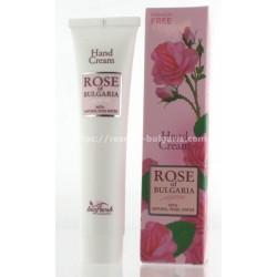 Hand cream rosewater