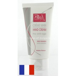 Hand cream antiage with rose water