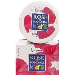 Crème de jour à la rose pour enfants