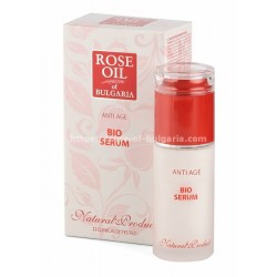 Anti age face cream with rose oil