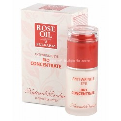 Anti-wrinkle eye cream with roseoil