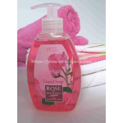 Liquid soap with rosewater