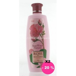 Eau de rose 330 ml recharge lot de 2