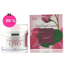 Set of 2 Antiaging creams Q10