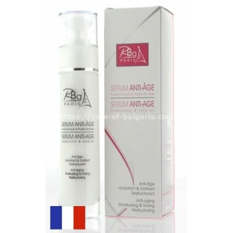 Pack anti age huile de rose collagen +