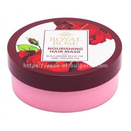 Nourishing hair mask Royal Rose