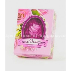 Rose oil bouquet soap 60 grs