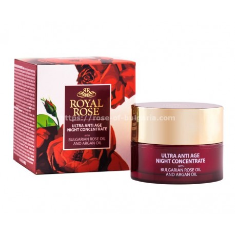 Ultra anti-age night concentrate Royal Rose