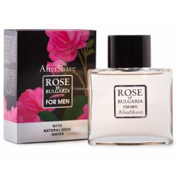 After shave rose of bulgaria for men