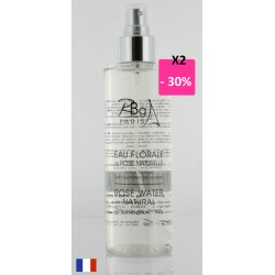 Eau de rose 200 ml spray Rbg Paris lot de 2