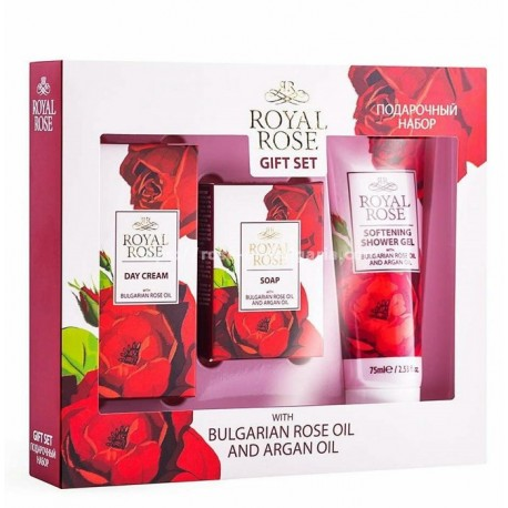 Travel gift set Royal Rose for ladies
