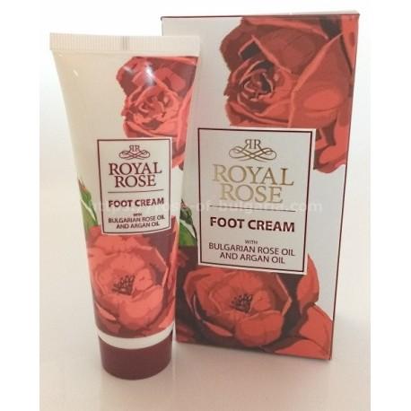 Crème apaisante pour les pieds Royal rose