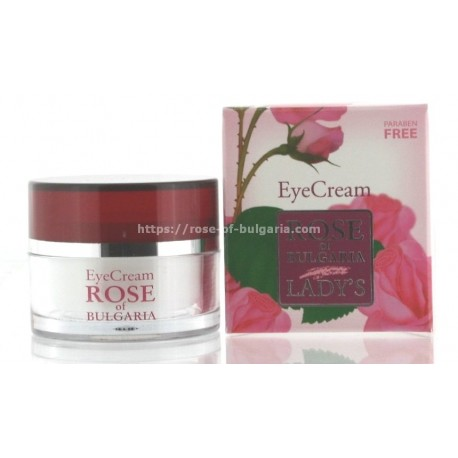 Eyes cream rosewater