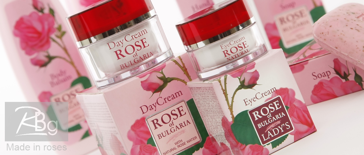 Rose of bulgaria rose water cosmetics