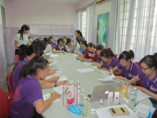 Lilyrose girls trained in meeting Vietnam