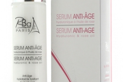 Rose anti age Rbg Paris application after galvanic session